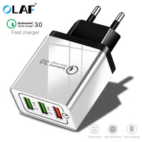 OLAF USB quick charger 3.0 for iPhone 7 8 Plus X XR XS Max Wall Charger for Samsung S8 S9 Note 8 9 For Xiaomi mi 8 Phone Charger