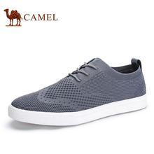 Camel Men Shoes 2016 High Fashion Shoes Men Spring Summer Men's Flats Casual Men Shoes Leather size 38-44
