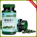 2 botellas/lot 250 mg polvo de espirulina espirulina algas