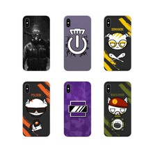 Accessories Phone Shell Covers For Huawei Mate Honor 4C 5C 5X 6X 7 7A 7C 8 9 10 8C 8X 20 Lite Pro rainbow six siege Pattern(China)