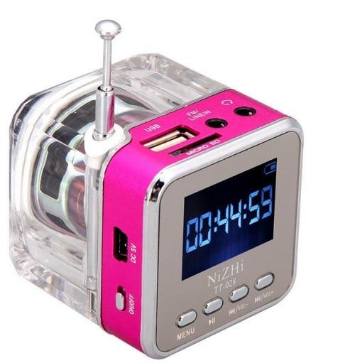 Led Radio Mp3 Player Digital Alarm Clock Backlight