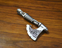 Slavic Pendants Antique Silver Slavic Perun Axe Pendant Slavic Jewelry Perun Axe Pendant Opal Viking Free shipping