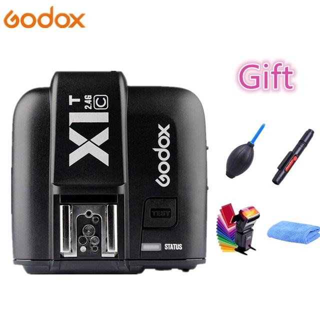 Godox  Mini TT350 Flash TT350C 2.4G TTL GN36 HSS Camera Flash Speedlight X1T Trigger For Canon 7D 810D 200D 800D 700D 70D 60D
