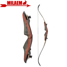 1Set 62inch Archery Recurve Bow 20-50lbs Right Hand Takedown American Hunting Bow Shooting Hunting Accessories leather s takedown