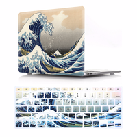 Laptop Cases For New MacBook Pro 13 15 Case 2016/2017 A1706 A1707 A1708 w/out Touch Bar Retina Floral Print Hard Cover Air 13.3