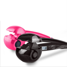LCD Digital Titanium Automatic Curls Magic Hair Curler Professional Fast Ceramic Wave Hair Styling Tools Hair Volume
