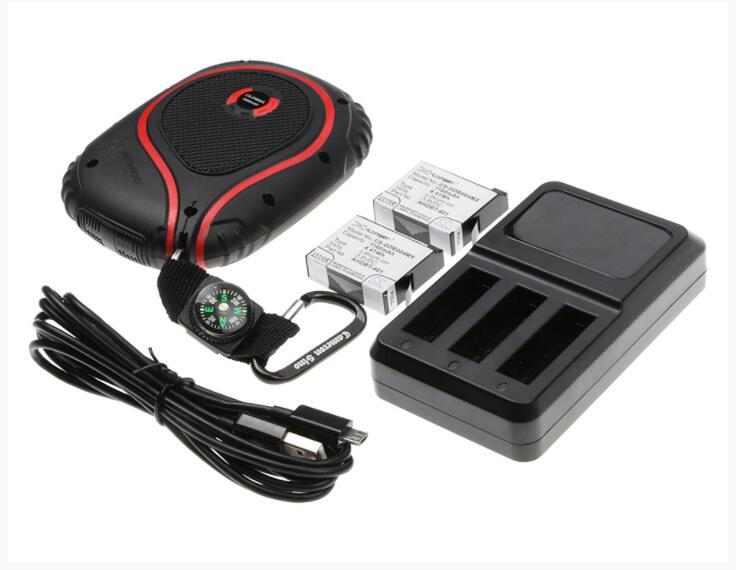 Cameron sino 9000 mAh аккумулятор для GOPRO Hero 4 Hero 4 Black Hero 4 Silver Hero 4 + 335 06532 000 AHDBT 401 комплект - 3