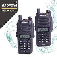2Pcs 100% Original Baofeng IP67 UV 9R Walkie Talkie Waterproof 10km Dual Band UV9R Two Way Ham Radio Maritime Interphone