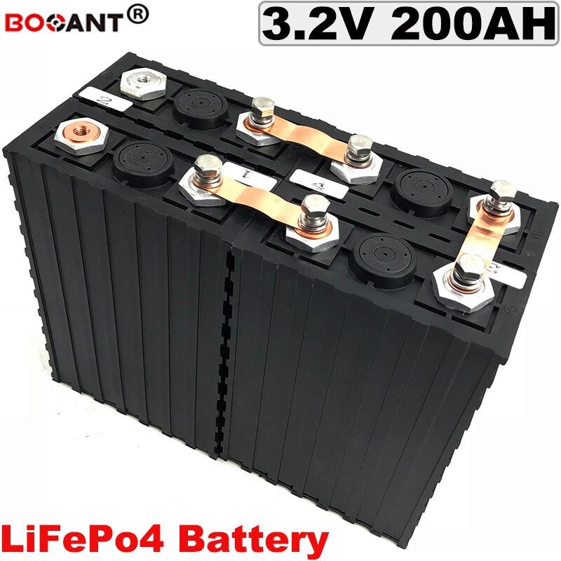 For Energy storage/Solar system power 3.2V LiFePo4 Lithium Battery 12V 24V 36V 48V 60V 72V 200AH Electric bike battery pack 3.2V