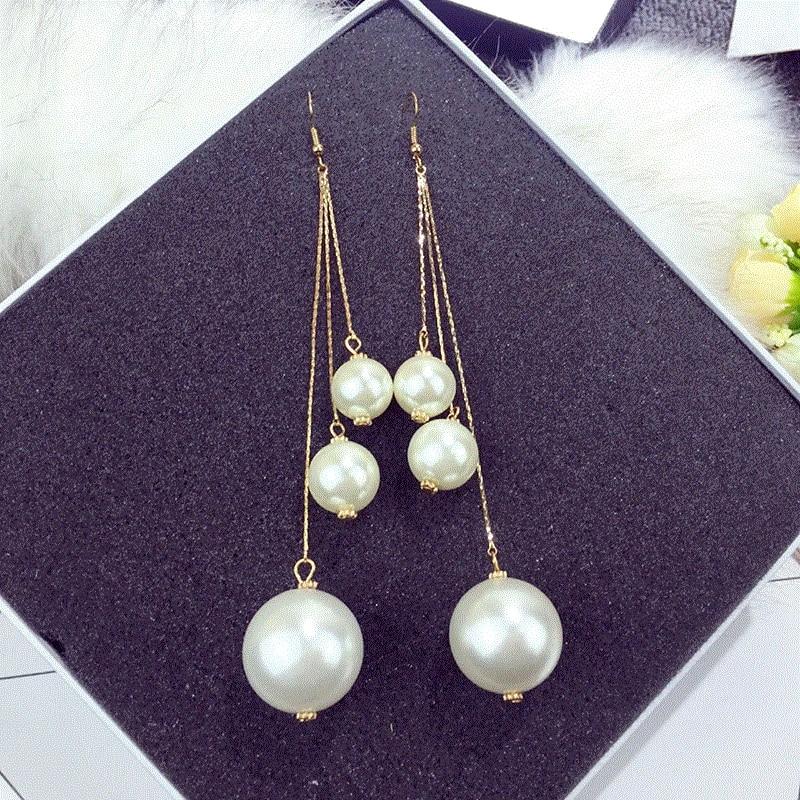 Vintage Chandelier Crystals n Pearls Earrings
