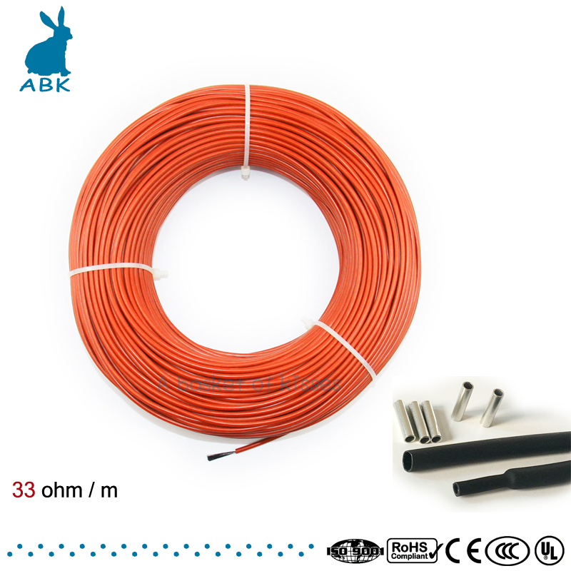 Low Cost Carbon Warm Floor Cable Carbon Fiber Heating Wire Electric Hotline New Infrared Heating Cable simple low cost electronics projects