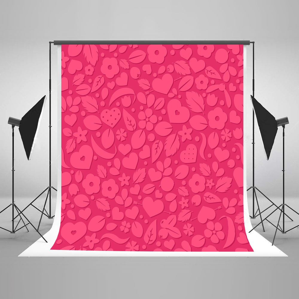 Kate 10ft Pink Wedding Photography Backdrop Paper Cut Photography Photo Studio Cotton Washable Photo Backdrops Bokeh Background kate photo background scenery