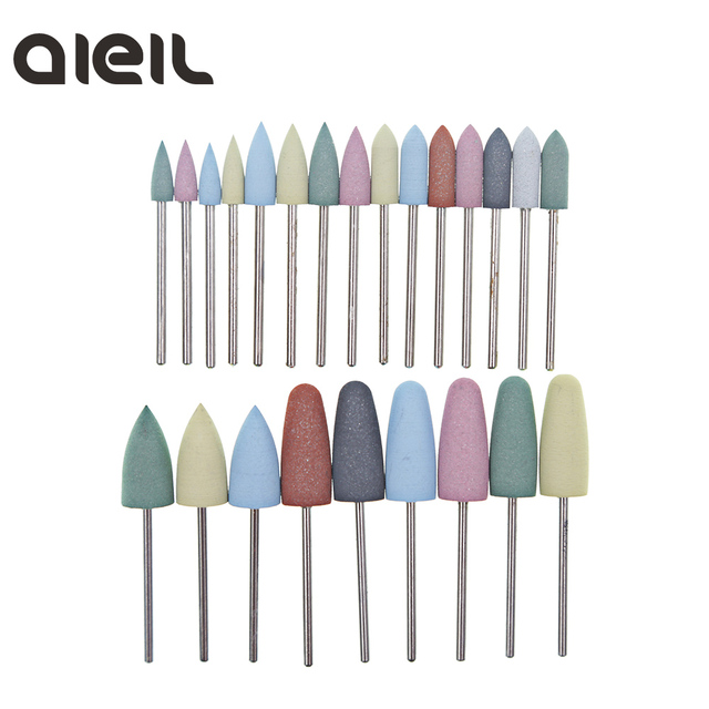 Silicone Nail Drill Bit Cutter for Manicure Machine for Manicure Nail Drill Milling Cutter for Nail Tool Cutter for Pedicure Bit 1