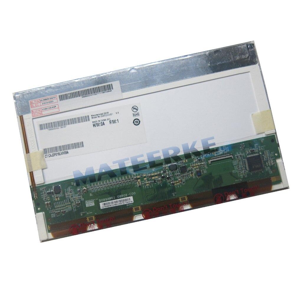 For ASUS EPC 900 900HA 900HD 8.9&#8243; LCD <font><b>LED</b></font> Screen Replacement B089AW01 A089SW01 A089SW01 v1 A089SW01 LP089WS1 HSD089IFW1
