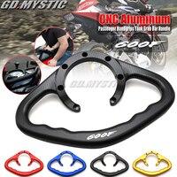 For Honda CBR600F CBR 600F 600 F 2011 2014 2013 2012 Motorcycle Passenger Handgrips Hand Grip Tank Grab Bar Handles Armrest