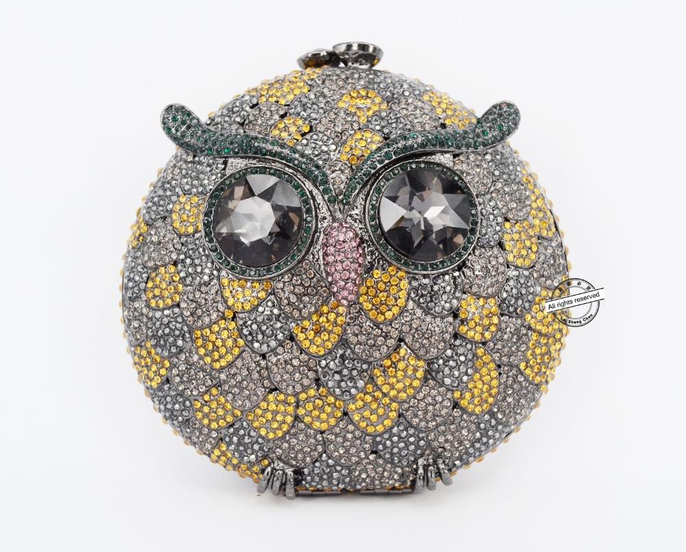 Здесь можно купить   Stylish Crystal evening clutch bags women owl clutch bag womens luxury designer bags Very beautiful inclined crossbody bag 88371 Камера и Сумки
