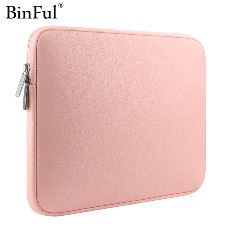 Binful For Macbook Pro 13 15 2017 A1706 A1707 A1708 with touch bar Laptop Case Zipper Liner Sleeve Bag for Macbook 11 13.3 15.4 image