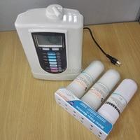Venda quente 5 placas de eletrodos alcalina máquina ionizador de água 110 V-240 V
