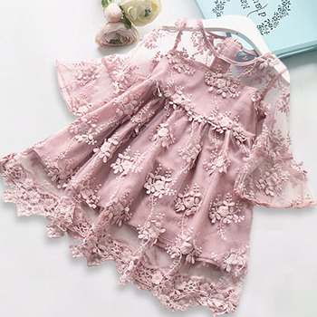 Flower Princess Dress For Girls 2