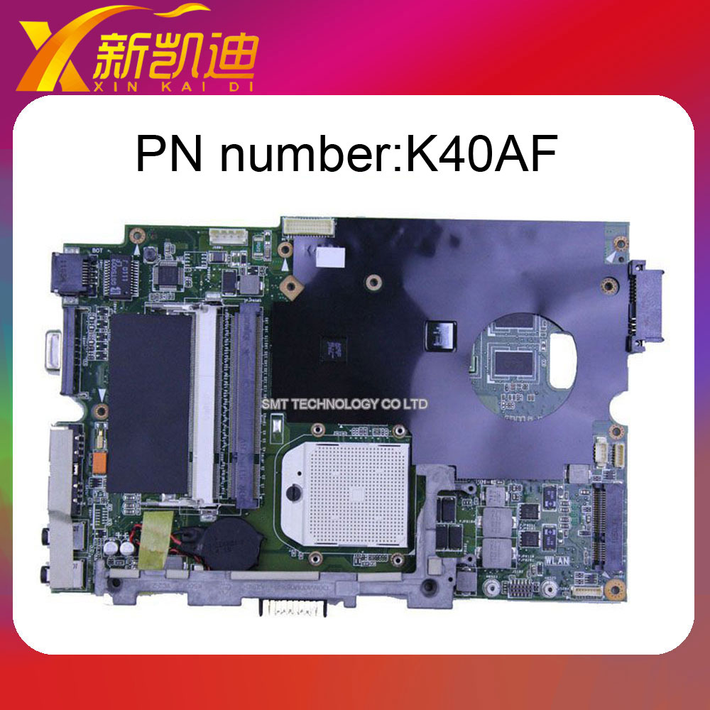 K40AF laptop motherboard for Asus Non-integrated DDR2 Full Tested 45 Days Warranty 45 days warranty for hp dv7 dv7 4000 615686 001 laptop motherboard 5470 512 non integrated graphics card 100% fully tested