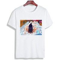 Sexy Anime Tshirt Women Citrus Anime Cotton O Neck T Shirt Plus Size Short Sleeve Brand Female T Shirt Femme