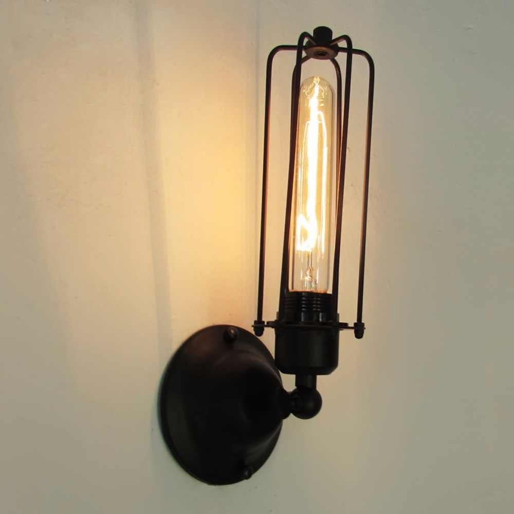 Vintage Style Loft Industrial Edison Hotel Cafe Bar Restaurant Wall Lamps Home Decoration Lighting Free Shipping
