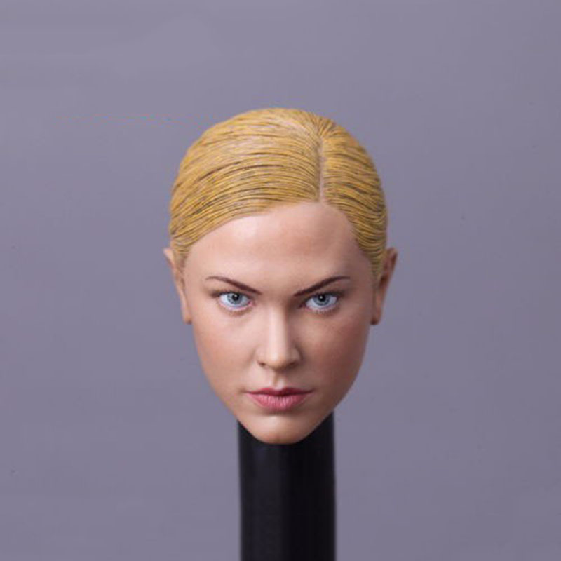 ФОТО Kristanna Loken Female Head Sculpts 1/6 Woman Head Carving Model Toys For Children For 12