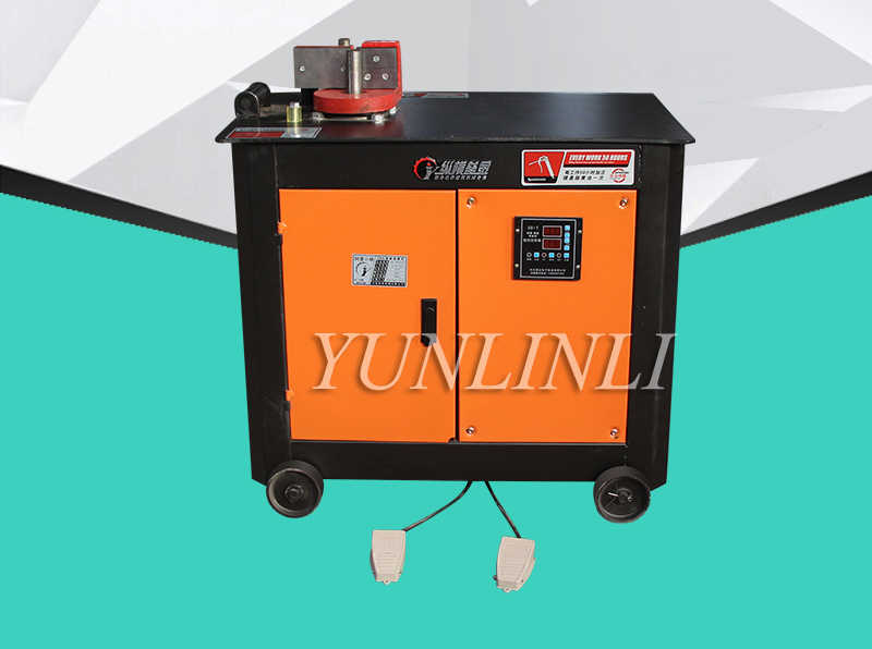 CNC Bending Machine High Speed Rebar Bender Iron/ Steel Bar Construction Building Hoop Bending Device GF25