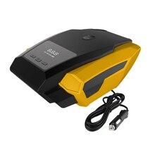 Carro LEVOU Display Digital ComprESSor de Ar Portátil Da Bomba Inflável 12 V Automobile Tire Inflator Rápido Mini Auto Elétrica Para Trave