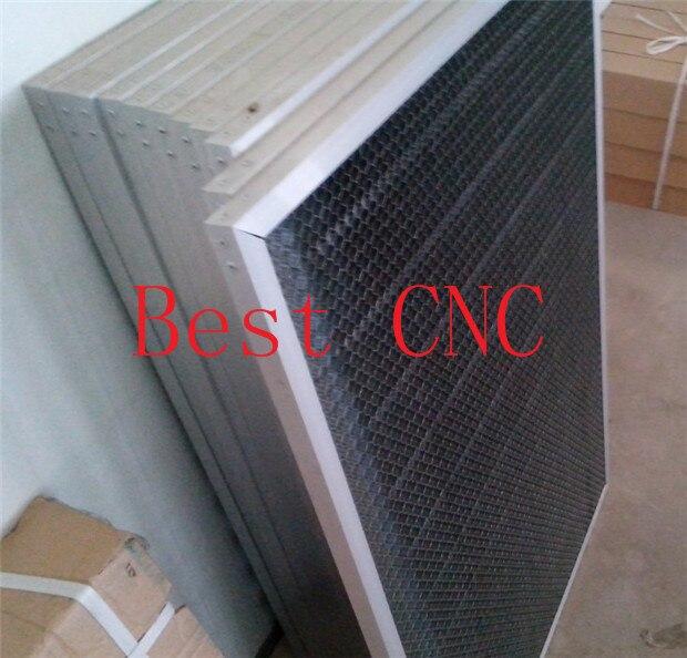 Купить с кэшбэком 60*90cm aluminum honeycomb table honeycomb platform 6090  laser machine parts special honeycomb fabric cutting machine platform