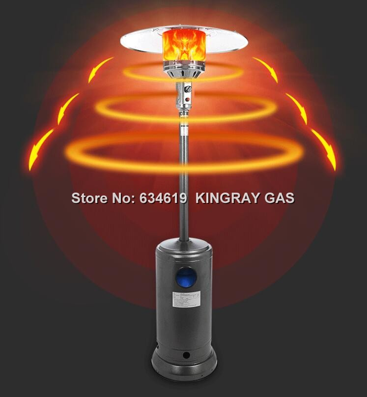 Outdoor mobile gas commercial domestic infrared heater indoor umbrella-shaped free stand heater garden gas patio heater
