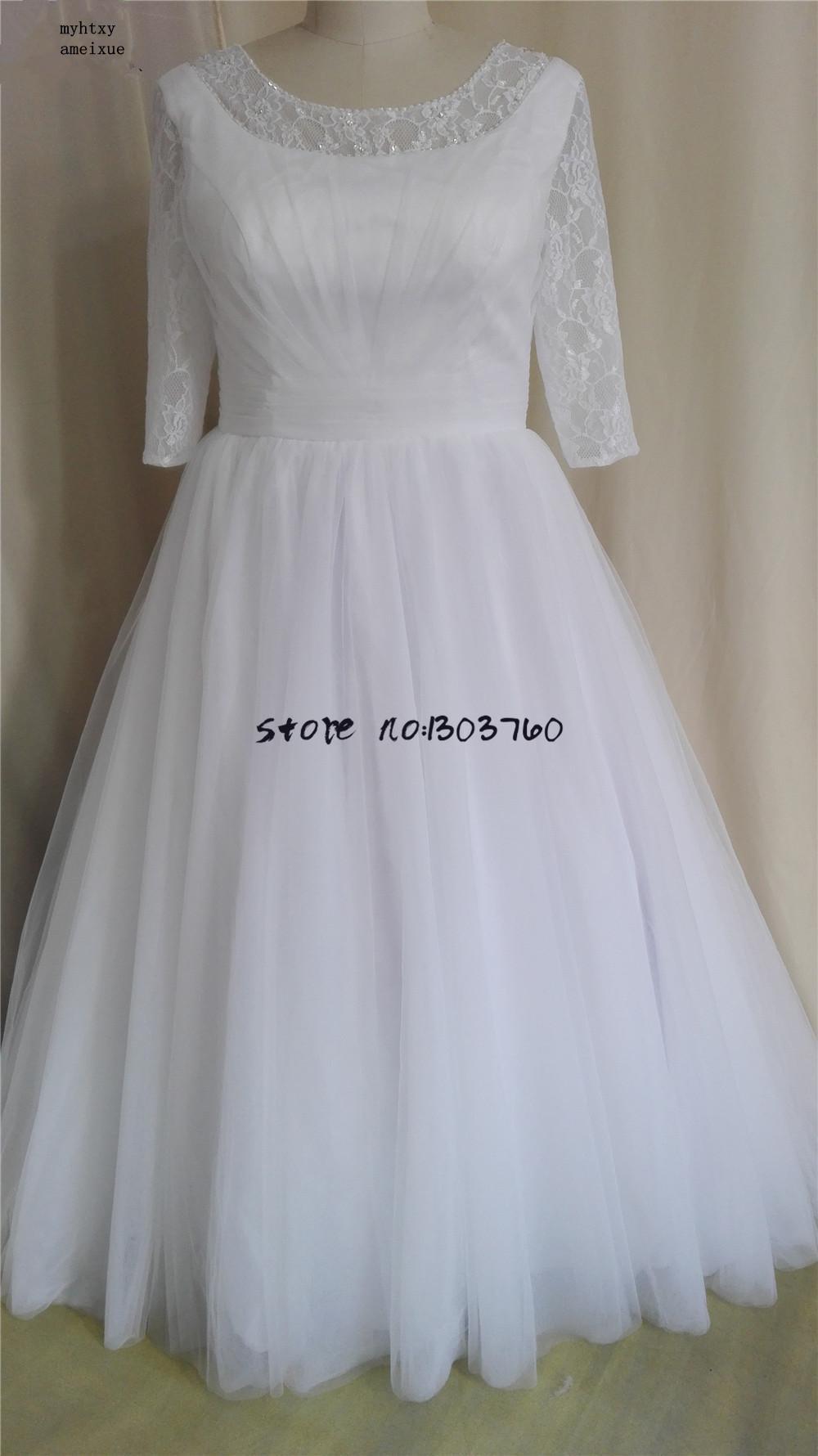 Popular Plus Size Vintage Bohemian Wedding Dresses Buy Cheap Plus