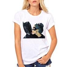 7952c524d LettBao Vogue Summer Anime Cartoon Batman Catwoman T Shirt Women Cotton Tee  Clothing