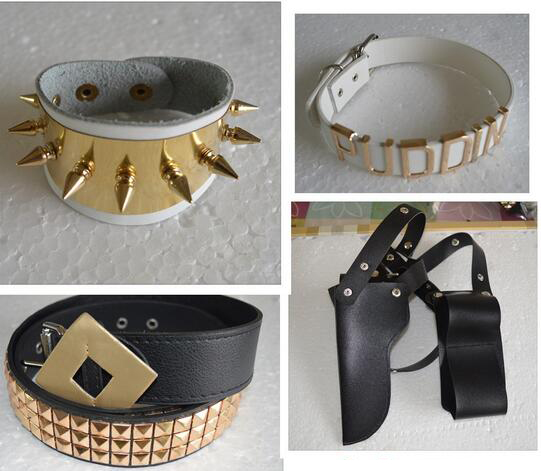 suicide squad batman harley quinn cosplay costume accessories Set Bracelet Collar Belt Halloween Costumes