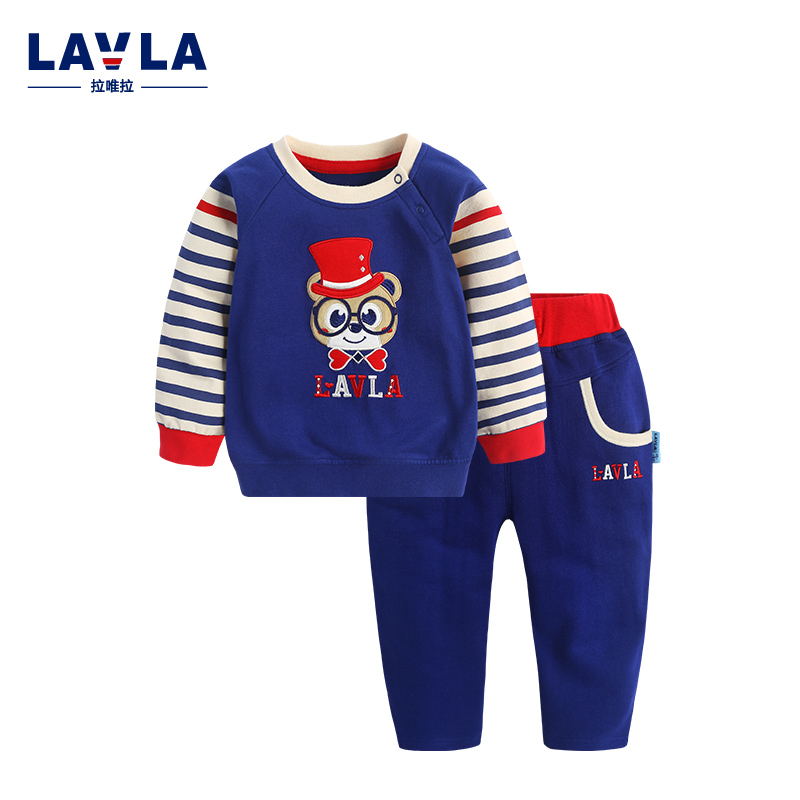 Lavla 2015 new spring/autumn baby Boy clothing set boys sport suit children outfits girls tracksuit kids causal 2pcs clothes set 2015 new arrive super league christmas outfit pajamas for boys kids children suit st 004