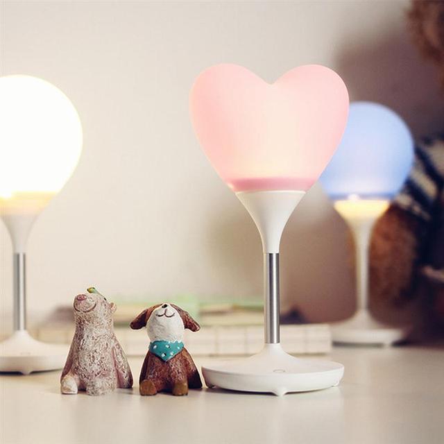 liefde hart ballon licht led nachtlampje opladen draadloze verlichting night tafellamp voor kids slaapkamer kamer nieuwjaar