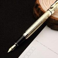 1pcs Lot New Arrival Luxury Fountain Pen Gold Clip Silver Clip Optional Fountain Pen Ink Pen