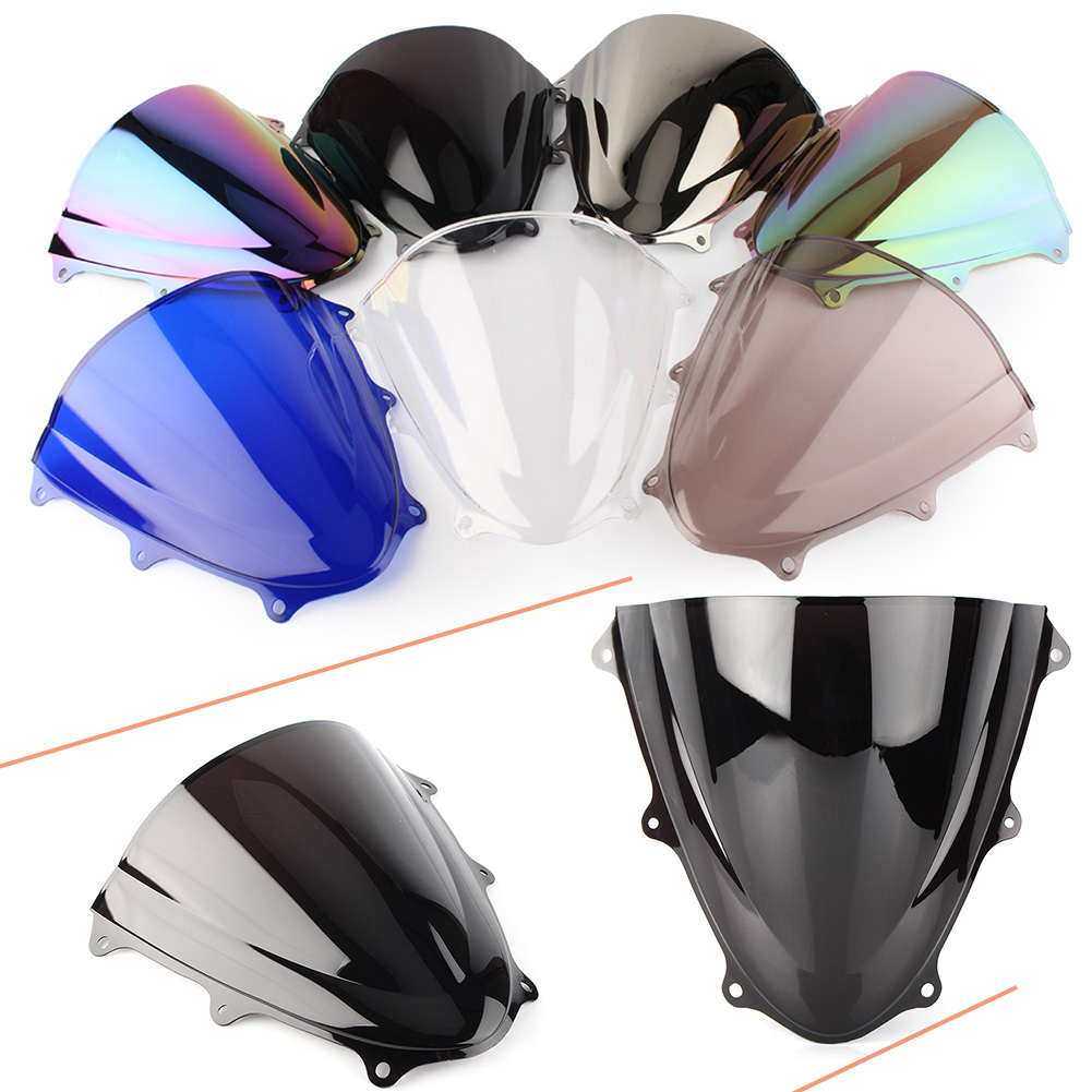 K11 GSXR600 GSXR750 Motorcycle Windshield Windscreen Double Bubble For Suzuki GSXR 600 750 2011 2012 2013 2014 15 16 2017 2018