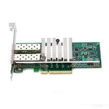 10gbps pci express gigabit ethernet fiber network card Dual-port  for INTEL X520 82599ES