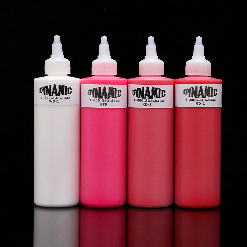 New Arrival 7 Color 8oz DYNAMIC Tattoo Ink  240 ml/Bottles Wholesale Price Free Shipping