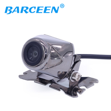 100% HD CCD Free shipping 170 Degree IR Nightvision Waterproof Car Rear view camera Reverse paking for Universal