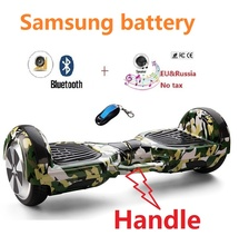 """6.5 """"monopatín eléctrico Samsung batería de auto equilibrio scooter de gyroscooter borda inteligente equilibrio scooter de rueda hover bordo"""