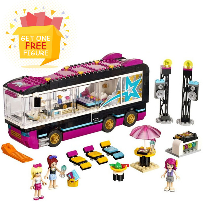 Bela Pogo Compatible Legoe Friends BL10407 Girls Building Blocks Bricks toys for children lepin pogo bela 10609 girls friends heartlake pizzeria models building blocks bricks action figures compatible legoe toys