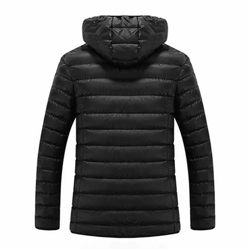 高品質男性ダウンジャケットブランド服カジュアル暖かい付きの毛皮の襟コートジャケットパーカー