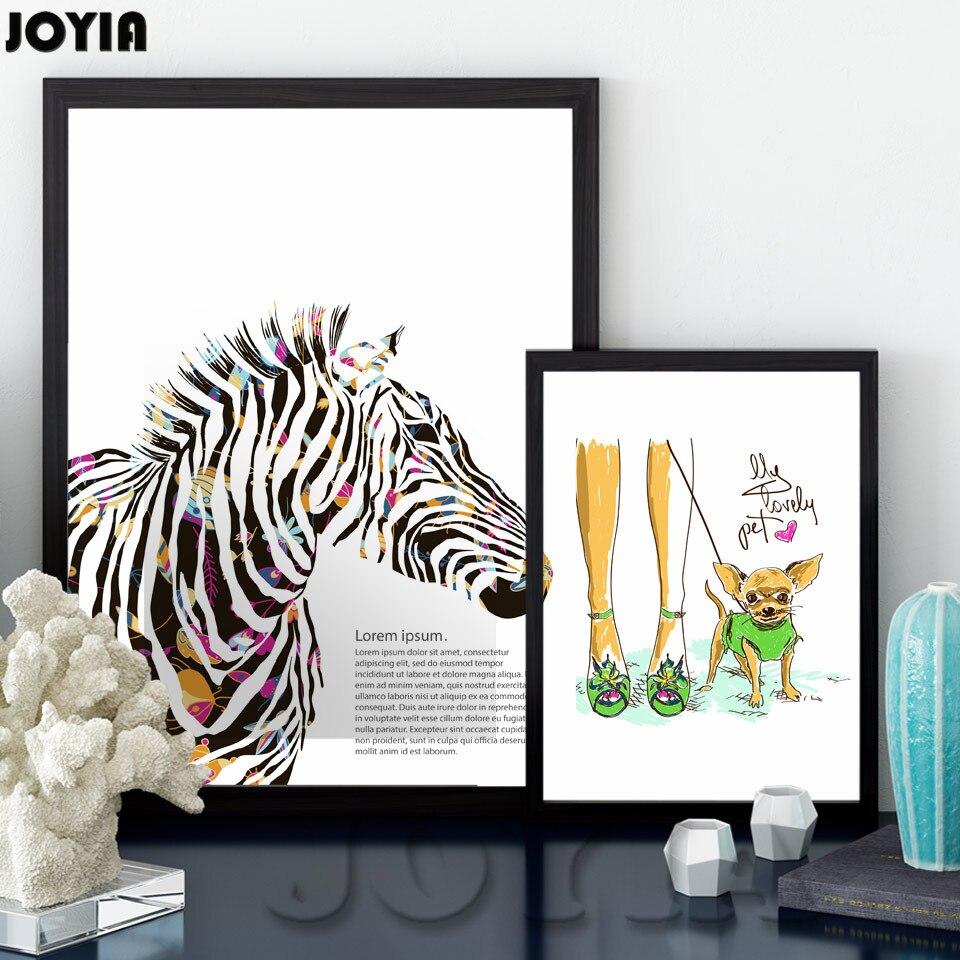 online get cheap zebra print bedroom decor aliexpress com colour zebra pet art canvas poster print minimalism modern home decor wall pictures no framed living bedroom decoration