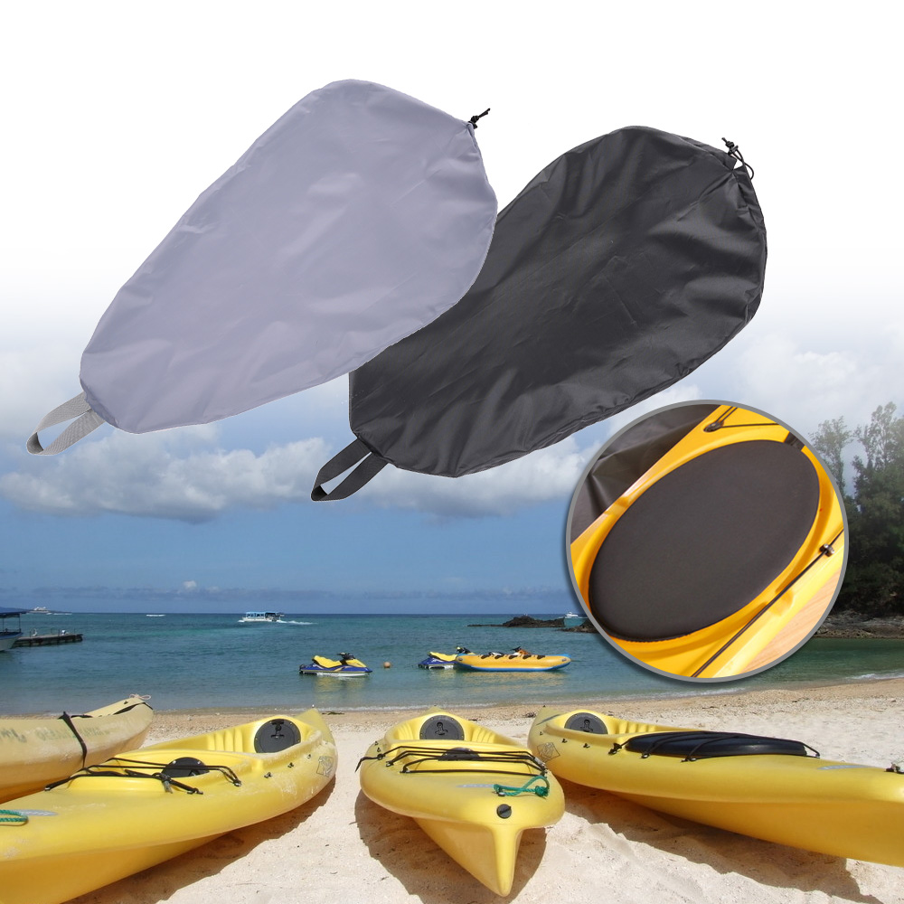 Breathable Adjustable UV50+ Blocking Kayak Cockpit Cover Seal Cockpit Protector Ocean Professional Universal Canoe Rowing Boat image