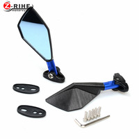 For CNC Aluminum Universal Motorcycle Mirror Motorbike Side Mirrors Rearview Mirror For Honda CB 599 919