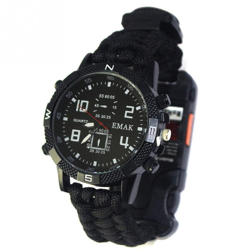 aeProduct.getSubject()  EDC Tactical multi Outside Tenting survival bracelet watch compass Rescue Rope paracord gear Instruments package HTB1ZUoSxlyWBuNkSmFPxh4guVXa4