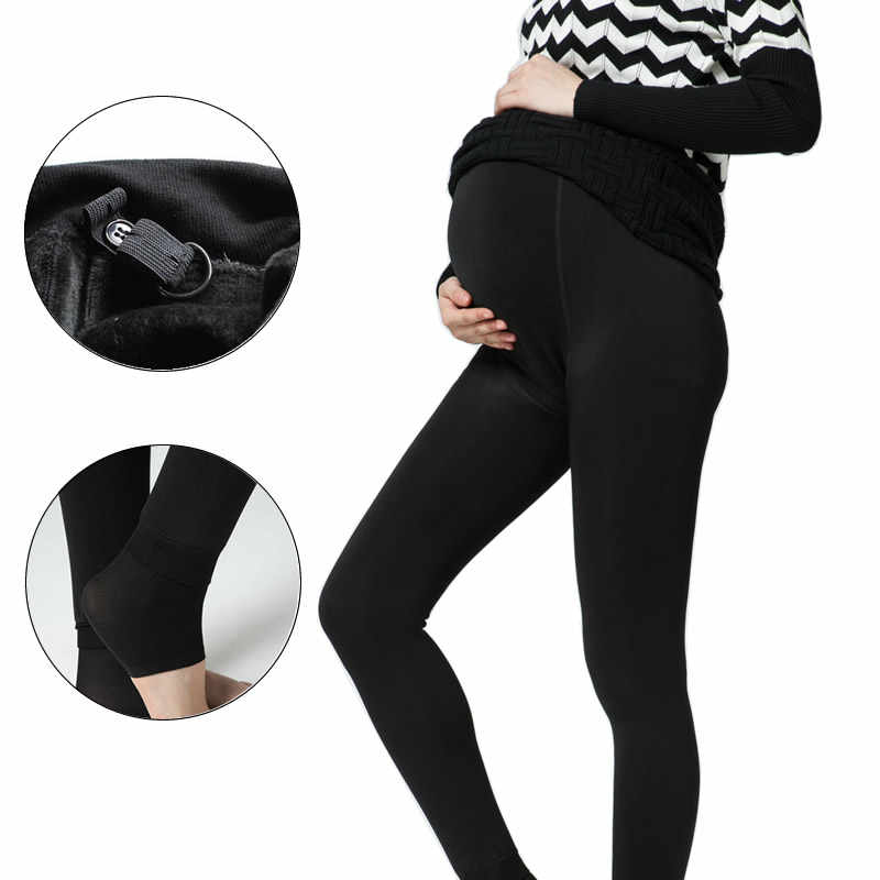 cff3d0c4daffe ... Feedback Questions about Maternity Solid Black Leggings over Bump  Maternity Yoga wear slim for pregnancy woman clothes high Elastic for pregnant  pants ...