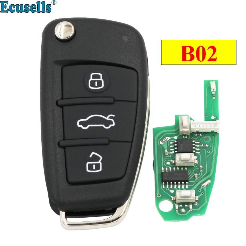 KEYDIY B series B02 3 button universal remote control for KD900 URG200 KD-X2 mini KD to generate new remote for Audi A6L styleKEYDIY B series B02 3 button universal remote control for KD900 URG200 KD-X2 mini KD to generate new remote for Audi A6L style